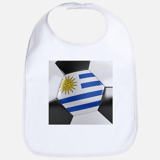 Uruguay Soccer Ball Bib