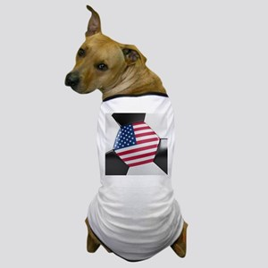 USA Soccer Ball Dog T-Shirt