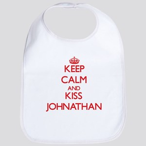 Keep Calm and Kiss Johnathan Bib