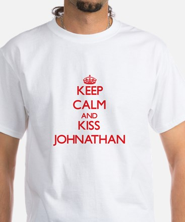 Keep Calm and Kiss Johnathan T-Shirt