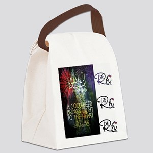 RightOn Good Deed Canvas Lunch Bag