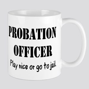 Probation Officer Shirt Mugs