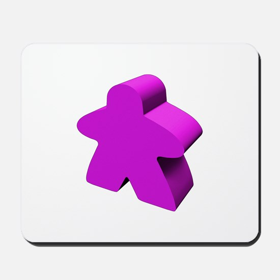 Purple Meeple Mousepad