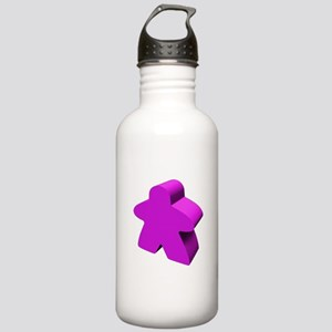 Purple Meeple Stainless Water Bottle 1.0L