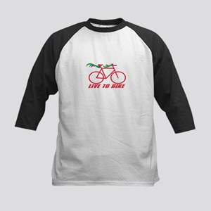 Live To Bike Baseball Jersey