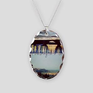 Rabat-Washington  Necklace Oval Charm