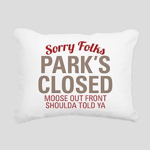 Wally World - Parks Clos Rectangular Canvas Pillow