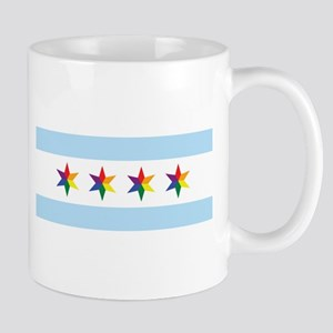 Chicago Municipal Pride Flag Mugs