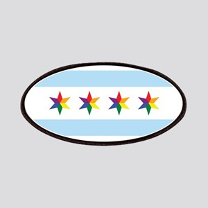 Chicago Municipal Pride Flag Patches