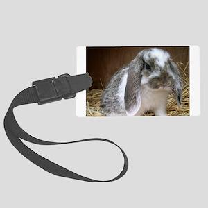 Floppy Ears Bunny Luggage Tag