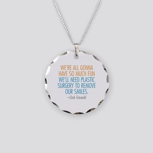 Clark Griswold Quote Necklace Circle Charm