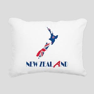 New Zealand Rectangular Canvas Pillow