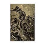 Giant Squid Attack 11x17 Print