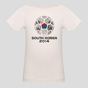 South Korea World Cup Soccer Ball (Football) T-Shi
