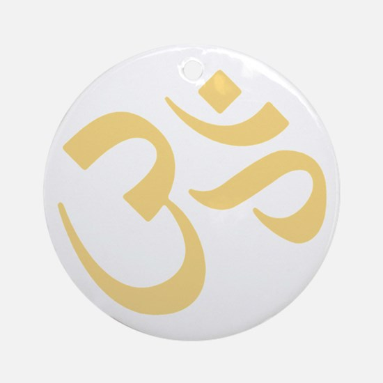 Om Ornament (Round)