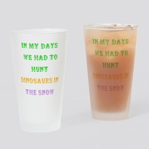 Funny quote about Aging Drinking Glass