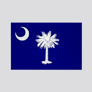 South Carolina Flag Rectangle Magnet