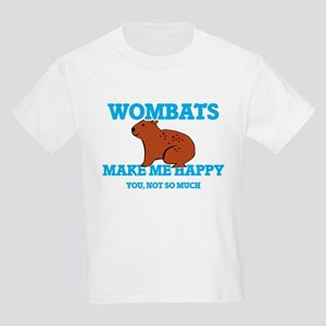 Wombats Make Me Happy T-Shirt
