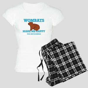 Wombats Make Me Happy Pajamas