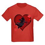 Cupid Love Kids Dark T-Shirt for Valentines
