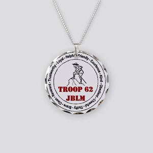 Troop 62 Necklace Circle Charm
