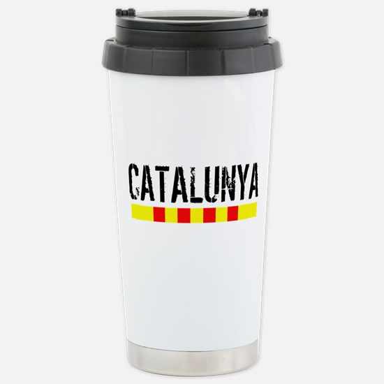 Catalunya Stainless Steel Travel Mug