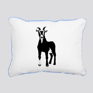 Billy Goat Gruff Rectangular Canvas Pillow