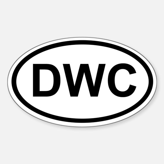 DWC Oval Decal