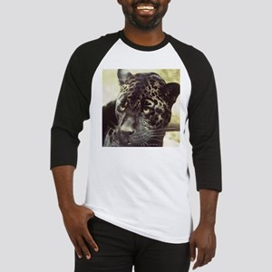 Black Leopard Baseball Jersey