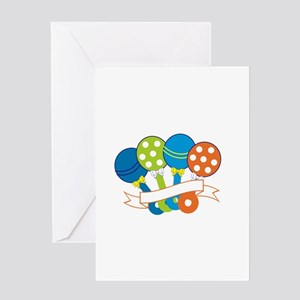 Baby Rattles Greeting Cards