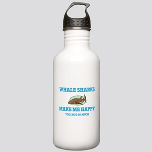 Whale Sharks Make Me H Stainless Water Bottle 1.0L