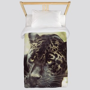Black Leopard Twin Duvet