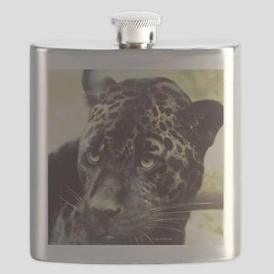 Black Leopard Flask
