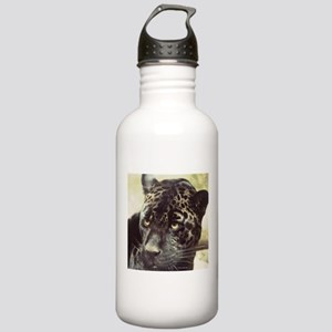 Black Leopard Water Bottle