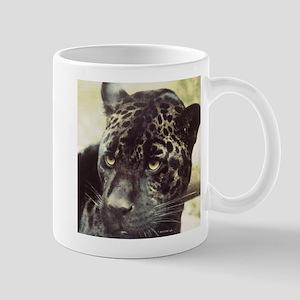 Black Leopard Mugs