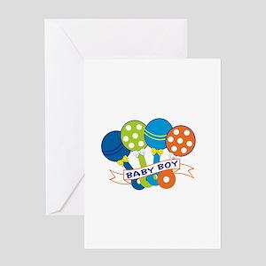 Baby Boy Greeting Cards