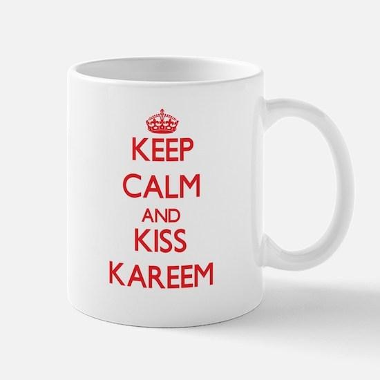 Keep Calm and Kiss Kareem Mugs