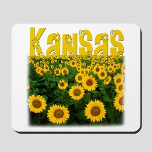 Kansas Sunflower Field Mousepad