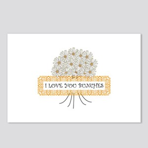 I Love You Bunches Postcards (Package of 8)