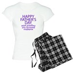 HAPPY FATHER'S DAY Women's Light Pajamas