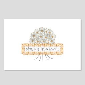 Spring Renewel Postcards (Package of 8)