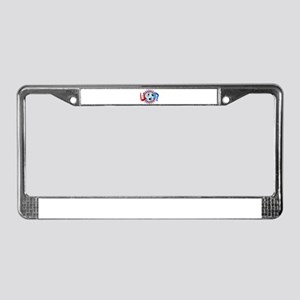 USSOCCER License Plate Frame