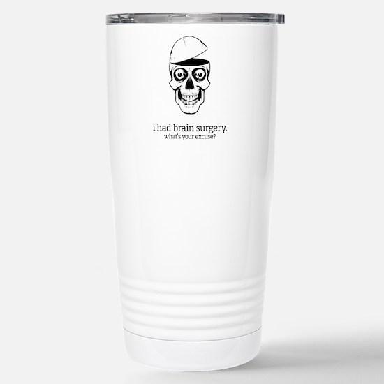 I Had Brain Surgery Travel Mug