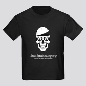 I Had Brain Surgery - dark apparel T-Shirt