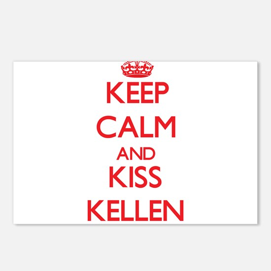 Keep Calm and Kiss Kellen Postcards (Package of 8)