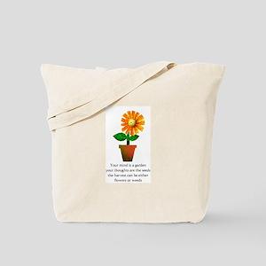 Spiritual Gardening Tote Bag