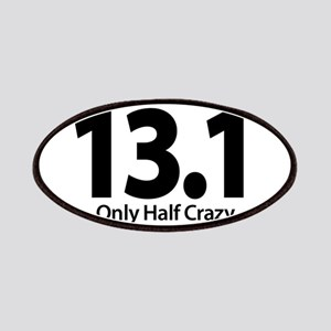 Half Marathon - Only Half Crazy Patches