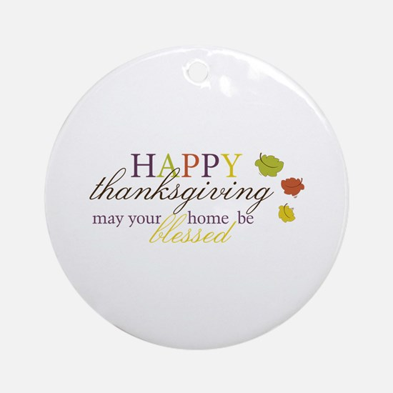 Be Blessed Ornament (Round)