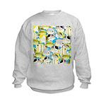 ButterflyfishPattern1 Sweatshirt