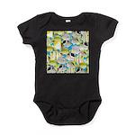 ButterflyfishPattern1 Baby Bodysuit